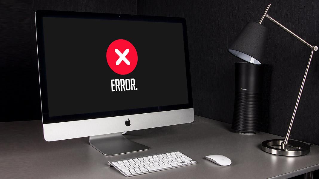 Erros em Sites de Arquitetura