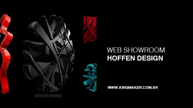 Criação de site para Hoffen Design - Decoração e Design de Interiores | Alexsandro Kingmaker