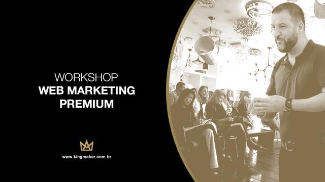 Alexsandro Kingmaker apresenta Workshop Web Marketing Premium na loja Empório Luz Design