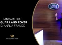 Alexsandro Kingmaker participa do lançamento de loja Jaguar Land Rover no Jd. Anália Franco