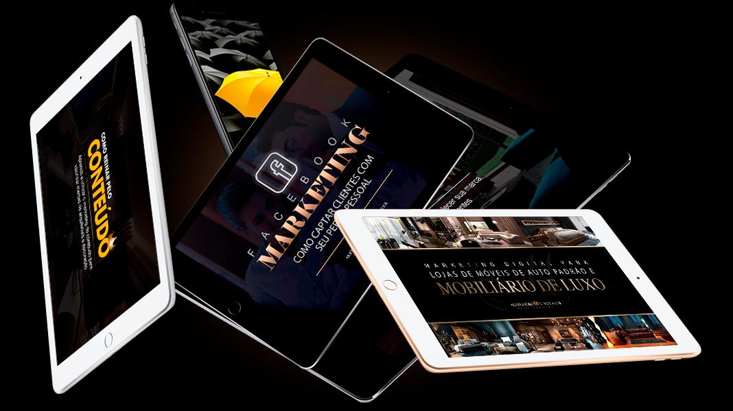 eBooks Marketing de Alto Padrão para Arquitetura, design, lojas de móveis e marcas de luxo