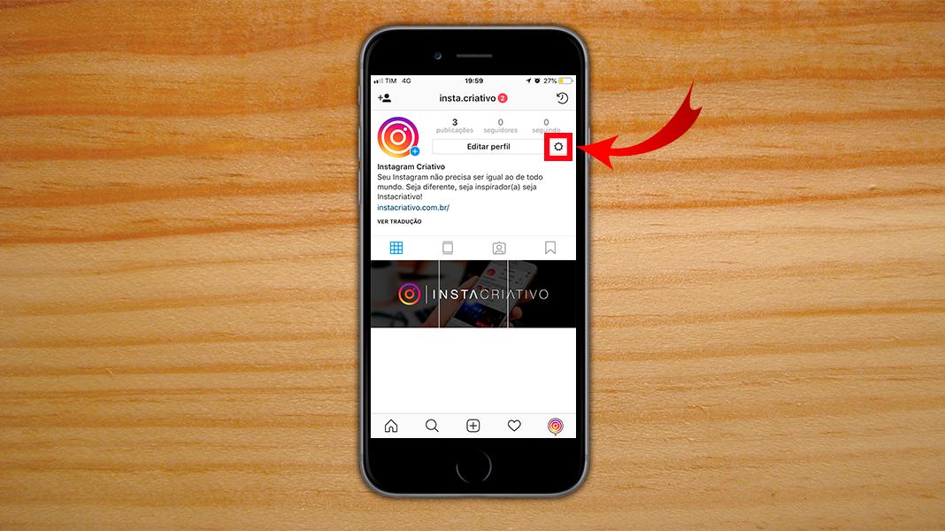Instagram Comercial - Configuração