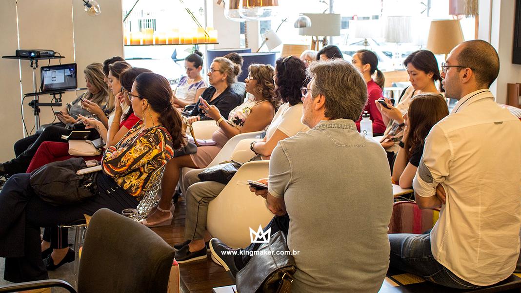Café com Conteúdo no Empório Luz Design