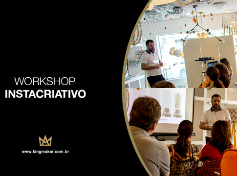 Alexsandro Kingmaker apresenta o Workshop Instacriativo na Empório Luz Design