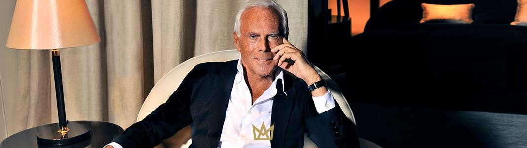 A visão estratégica de Giorgio Armani na construção de uma das marcas mais luxuosas do mundo