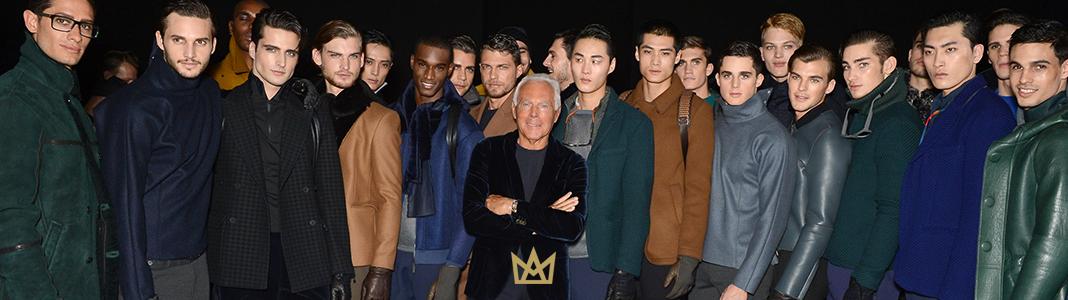 A execução requintada de Giorge Armani transformou empresa em uma das mais luxuosas marcas do mundo