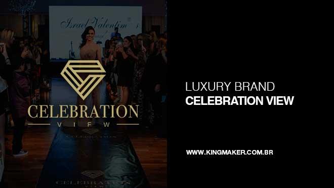 Celebration View - Criação de Marca par empresa de Eventos | Alexsandro Kingmaker