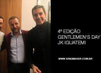 Felipe Titto, Alexsandro kingmaker e Alexandre Taleb no Gentlemen's Day JK Iguatemi
