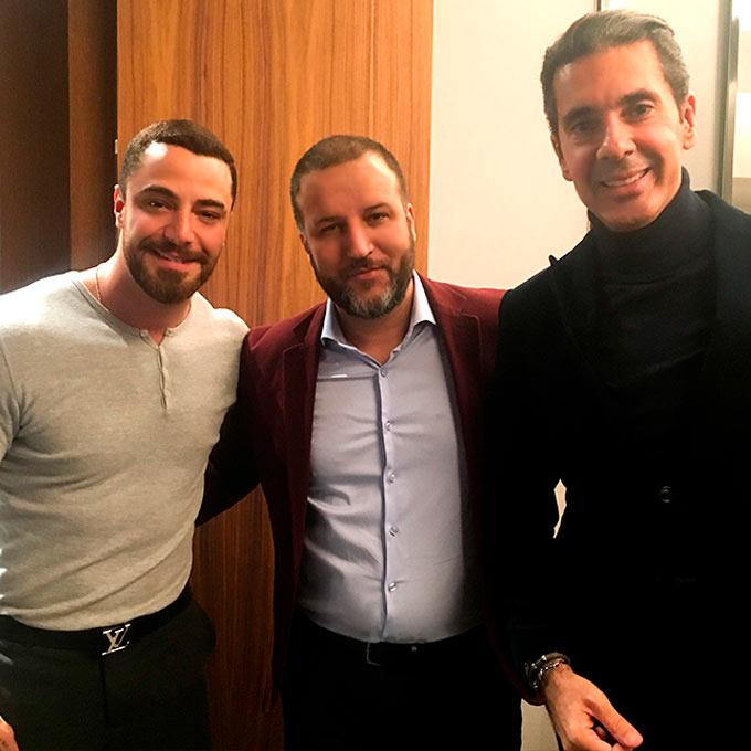 Felipe Titto, Alexsandro Kingmaker e Alexandre Taleb na Monte Cristo Joalheria | Alexsandro Kingmaker
