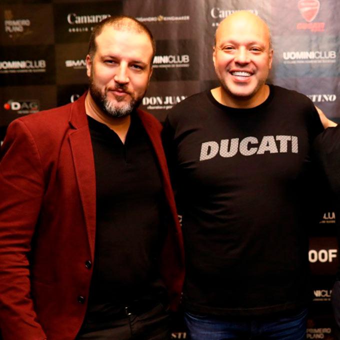 Com Rodrigo Francesco da Ducati Mooca   Alexsandro Kingmaker