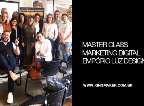 Evento de Marketing Digital na Empório Luz Design | Alexsandro Kingmaker