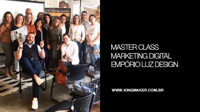 Evento de Marketing Digital na Empório Luz Design   Alexsandro Kingmaker