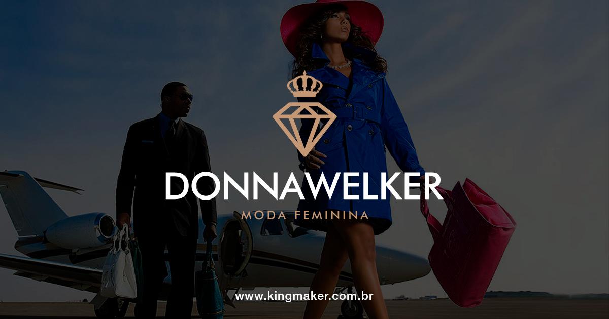 Criação de Marca de Moda Feminina - Criação de marca para loja feminina para DONNA WELKER | Alexsandro Kingmaker