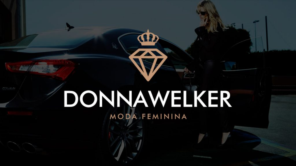 Logotipo Donna Welker Moda Masculina | Alexsandro Kingmaker