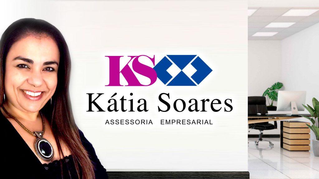 Logotipo Kátia Soares Assessoria Empresarial | Alexsandro Kingmaker