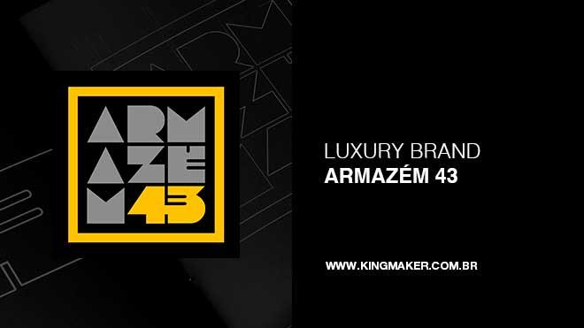 Criação de marca Armazém 43 Design Studio | Alexsandro Kingmaker
