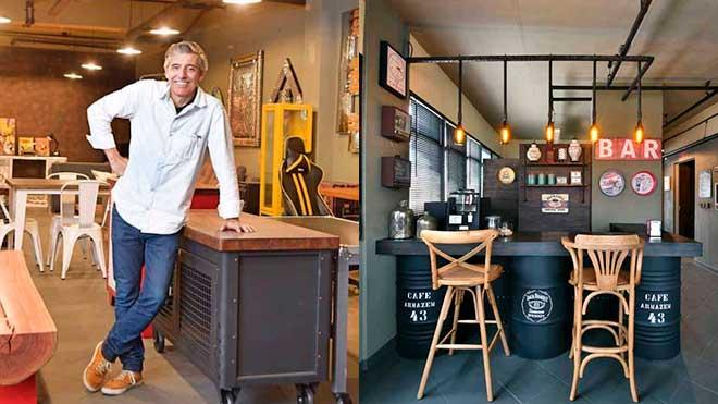 Marca Armazém 43 Design Studio - Criação de marca de loja de móveis de alto padrão | Alexsandro Kingmaker