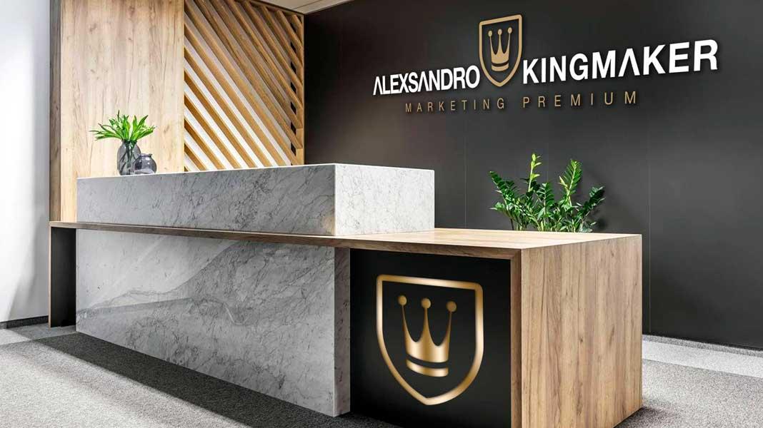 Criação de marcas de luxo e identidade visual premium para design de interiores   Alexsandro Kingmaker