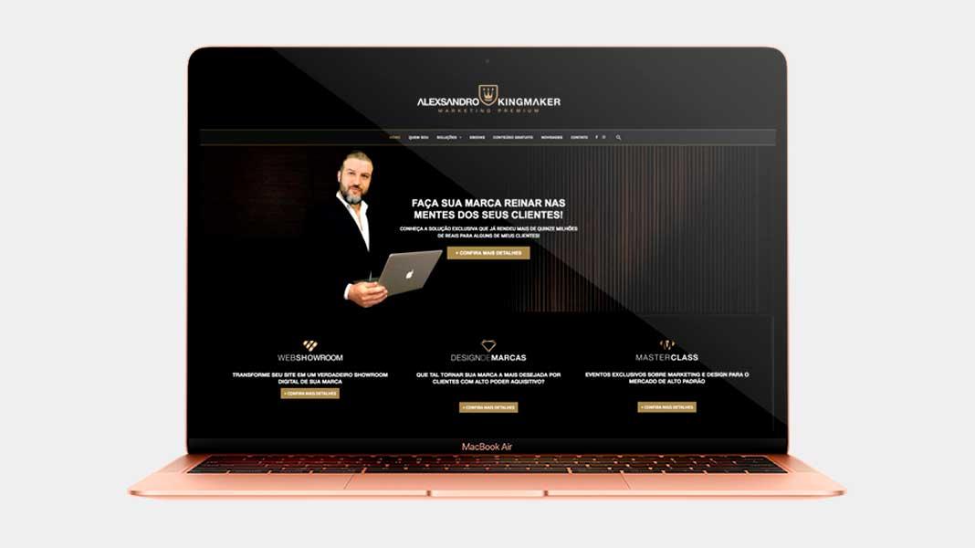 Criação de marcas de luxo e identidade visual premium para marketing digital   Alexsandro Kingmaker