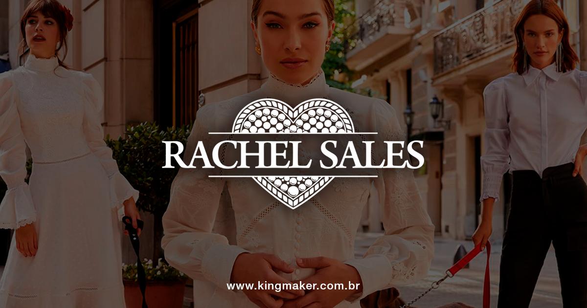 Criação de marca para loja feminina Rachel Sales Boutique | Alexsandro Kingmaker