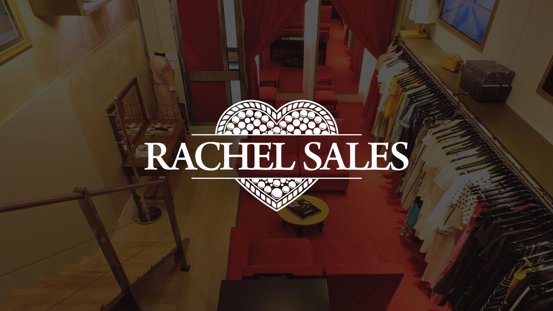 Marca Rachel Sales Boutique - Criação de Marca de Loja Feminina de Luxo - Logotipo Loja de Moda Feminina | Alexsandro Kingmaker