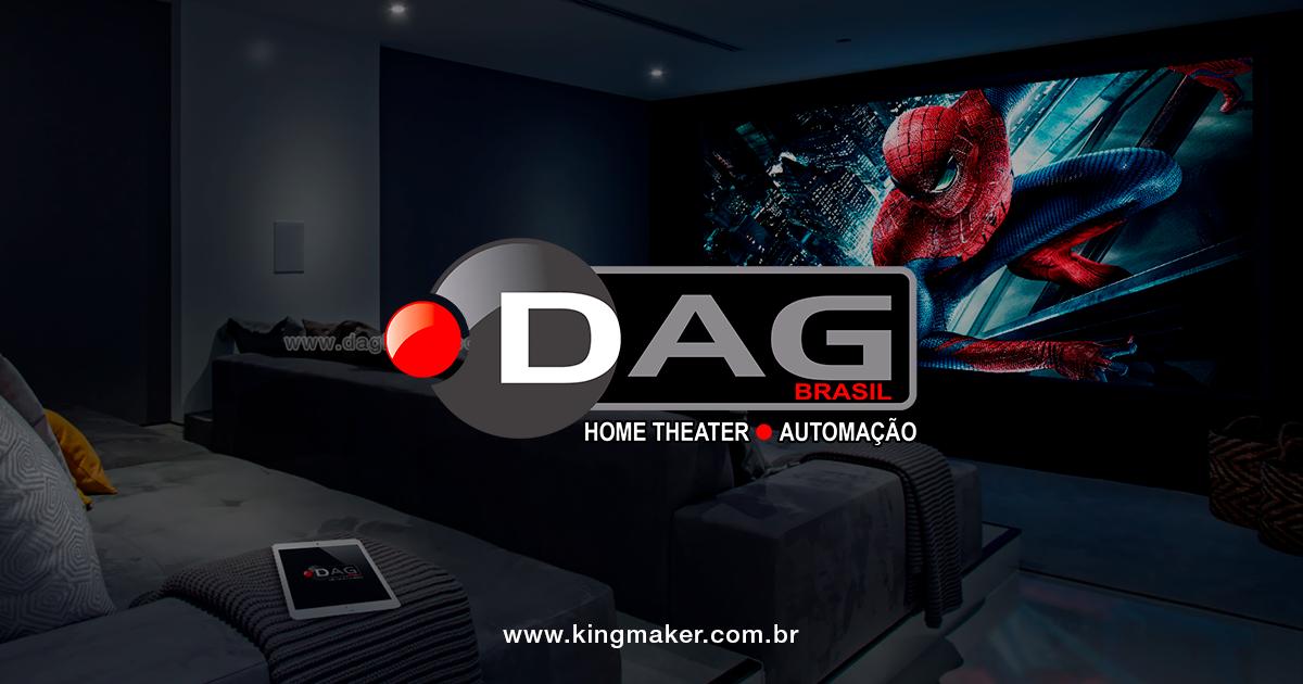 Criação de marcas de luxo - DAG Brasil Home Theater e Automação | Alexsandro Kingmaker