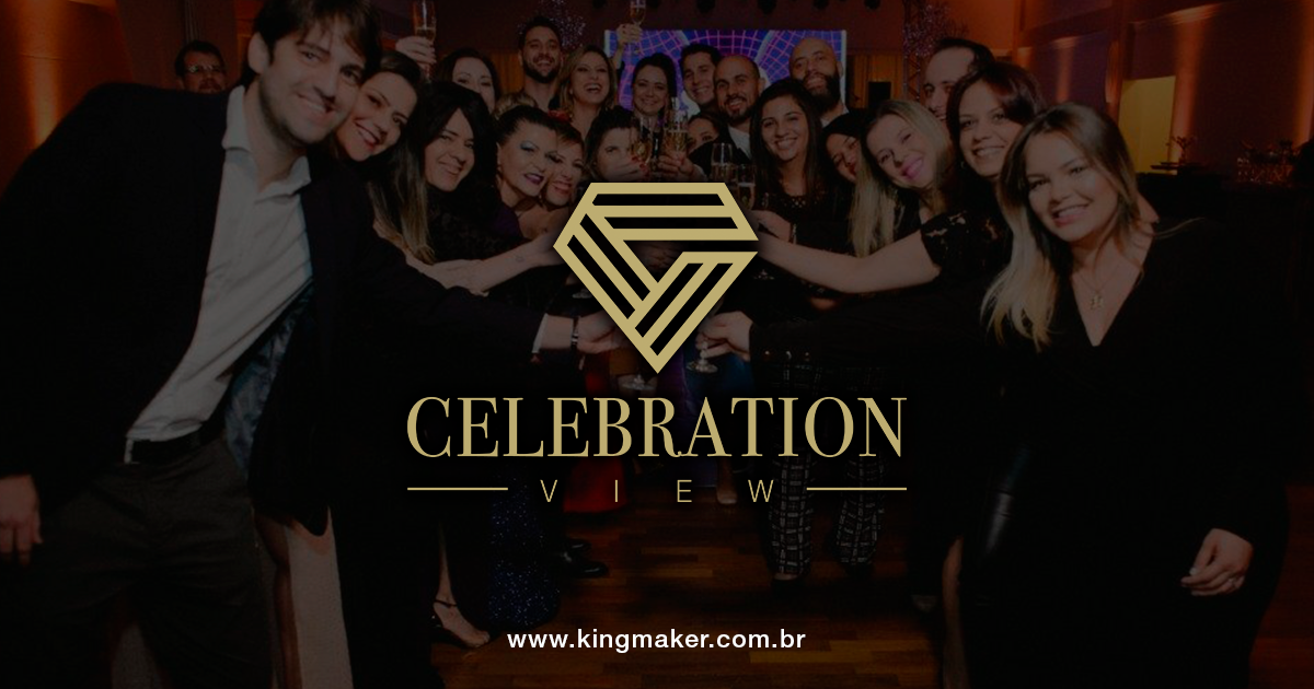 Criação de marcas de luxo - Celebration View Eventos | Alexsandro Kingmaker