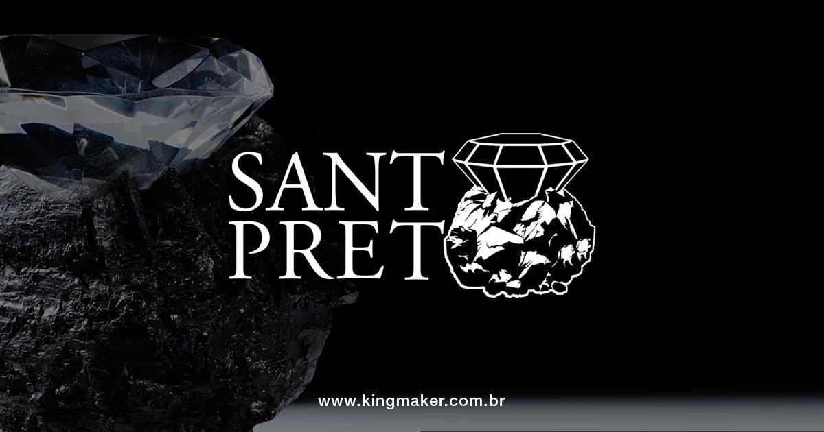 Criação de marcas de luxo - Santo Preto | Alexsandro Kingmaker