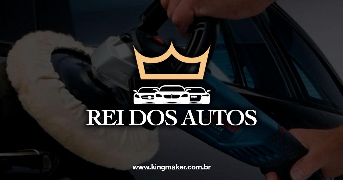 Marca Rei dos Autos - Criação de Marca de Carros Premium | Alexsandro Kingmaker